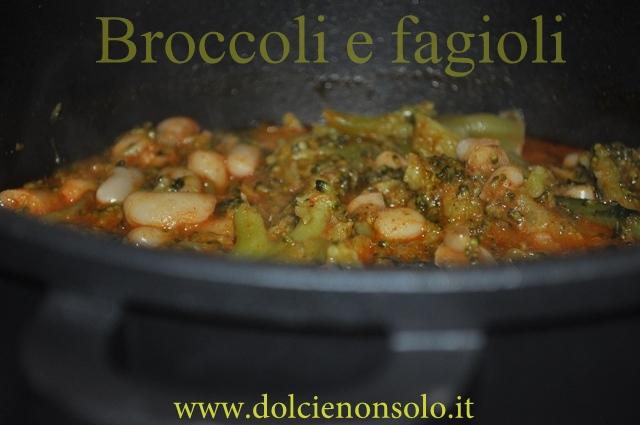 broccoli e fagioli zuppa invernale