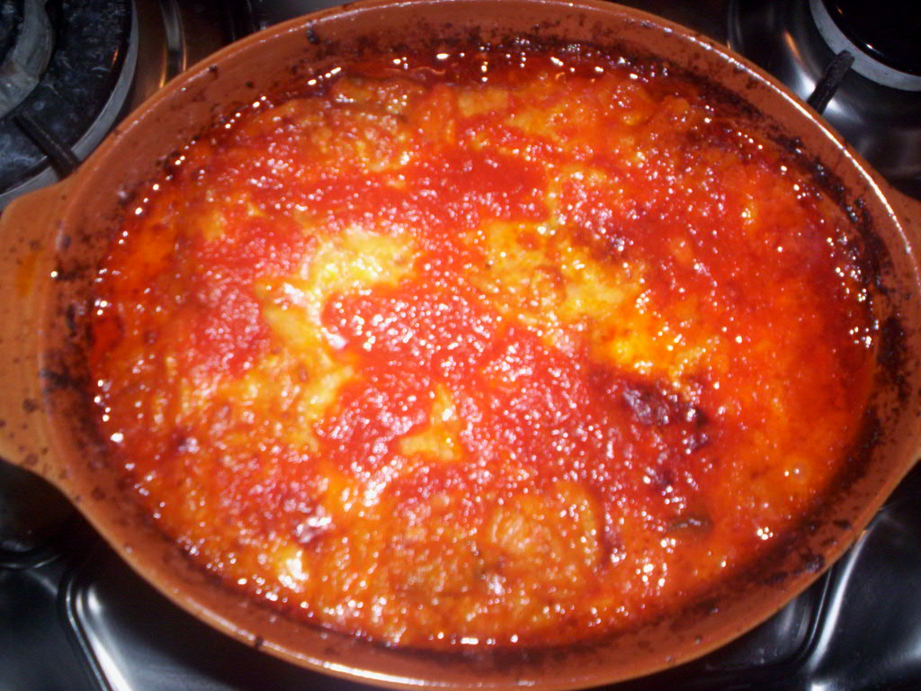riso al forno con melanzane