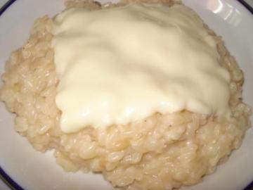 risotto al formaggio