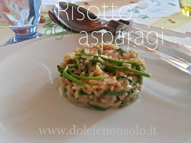 risotto agli asparagi selvatici gustoso