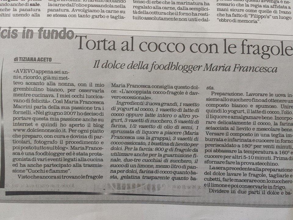 """Il mio, il vostro blog sul """"Quotidiano della Calabria"""""""