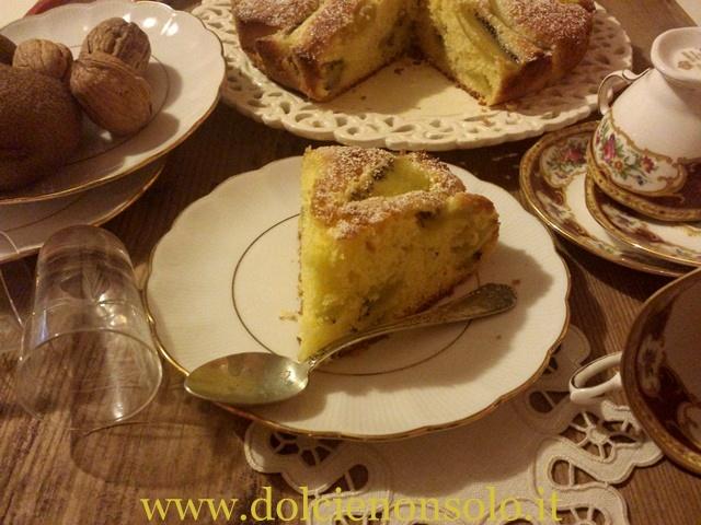 torta al kiwi
