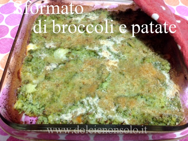 sformato di broccoli