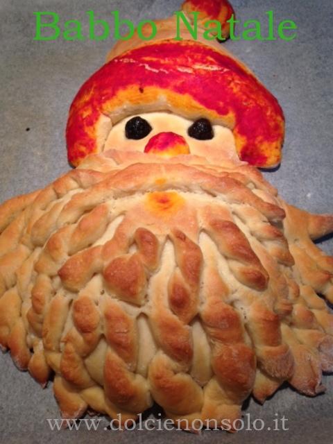 Babbo Natale in pasta di pane