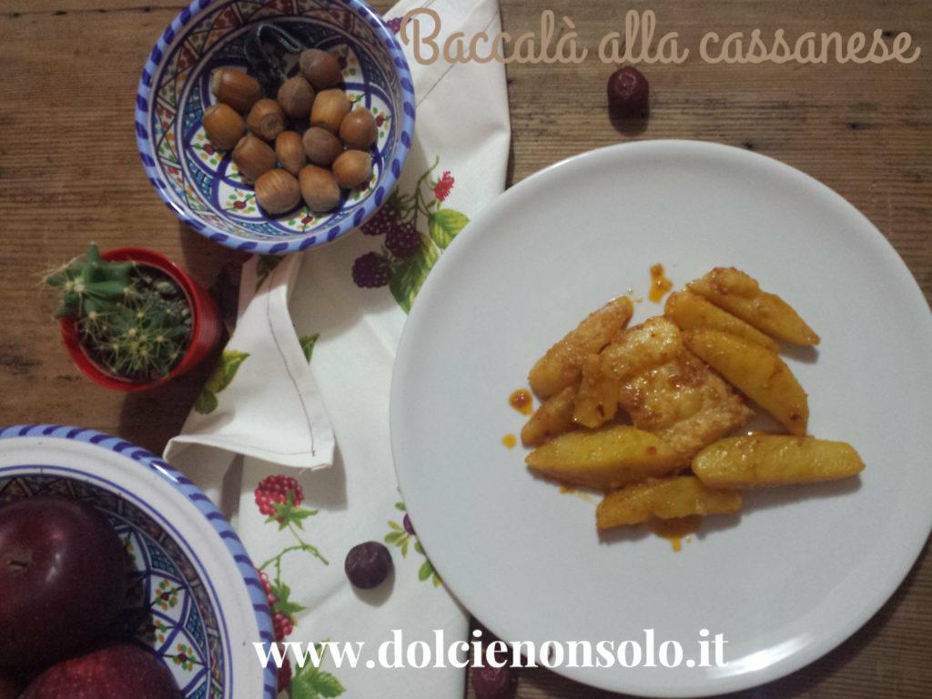 baccalà alla cassanese con patate