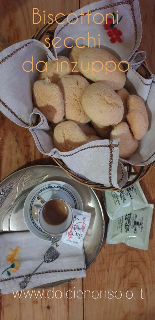 biscottoni secchi da inzuppo