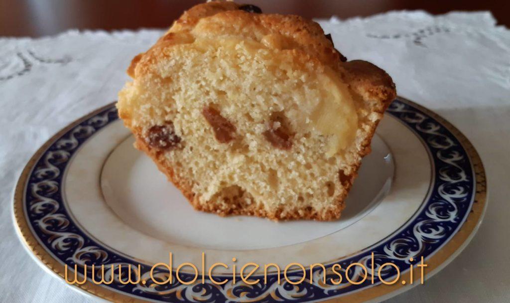 Ciambellone con uvetta e mele (ricetta con bimby)