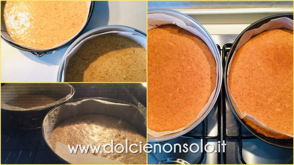 cottura base torta ricotta e pere