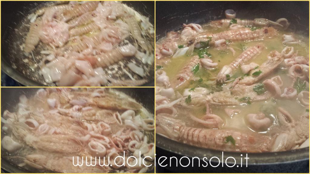 canocchie e calamari