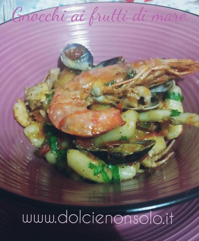 Gnocchi ai frutti di mare primo piatto di pesce facile