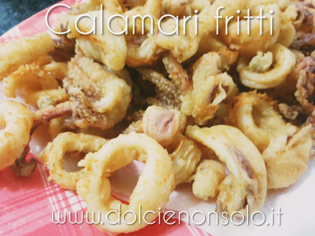 Calamari fritti croccanti e morbidi all'interno