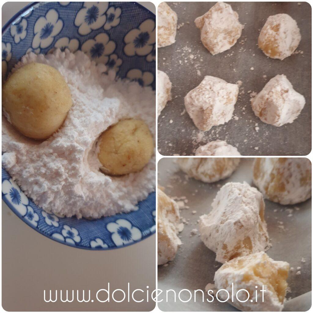 tocchetti di frolla nello zucchero vanigliato