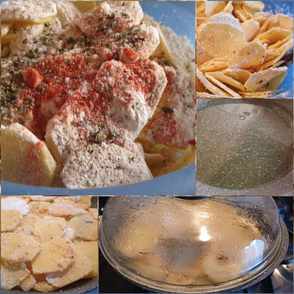 preparazione frittata senza uova