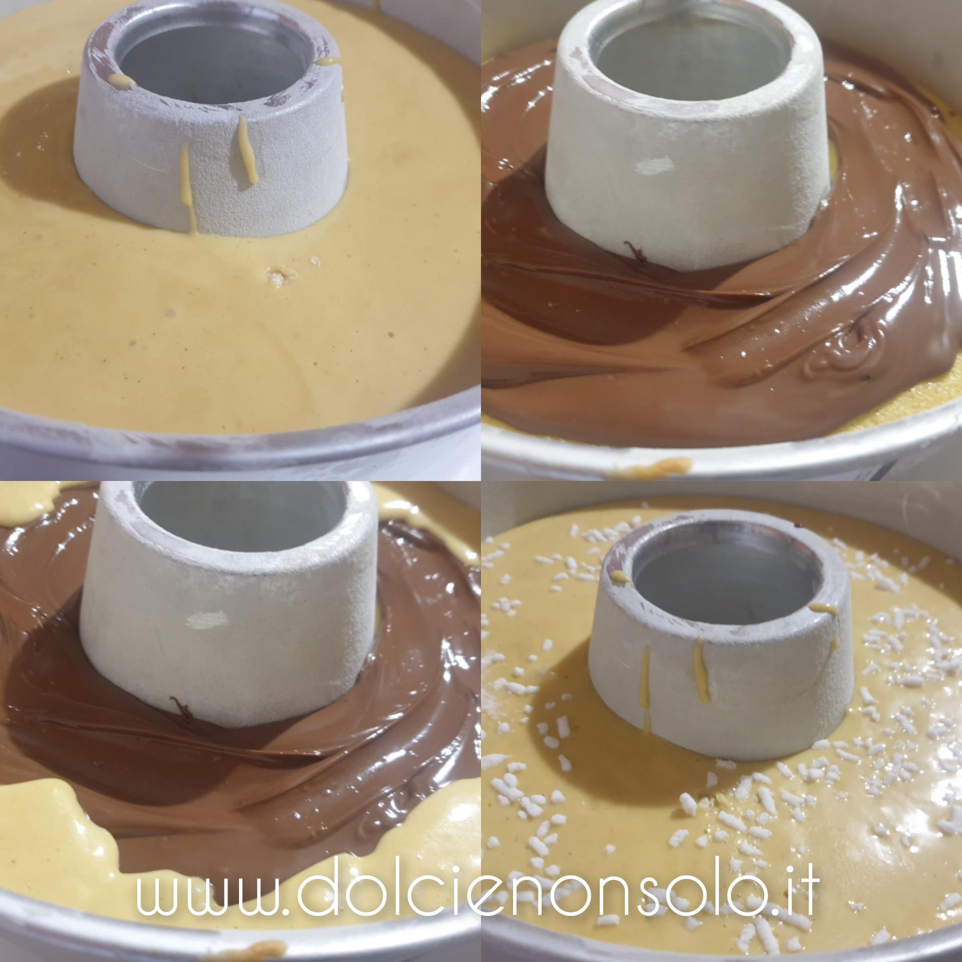 torta versata doppia cottura