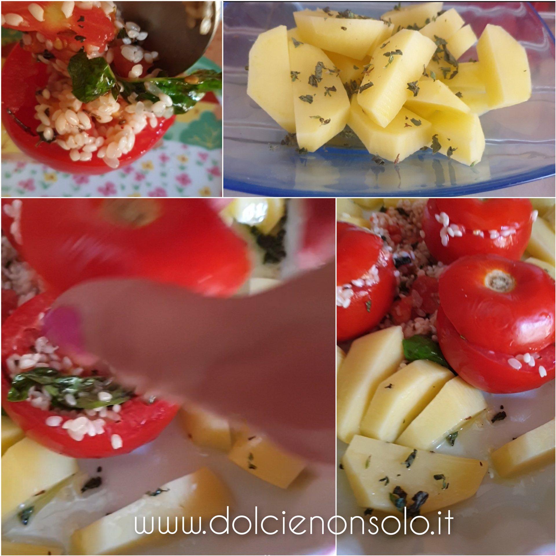 pomodori ripieni con patate